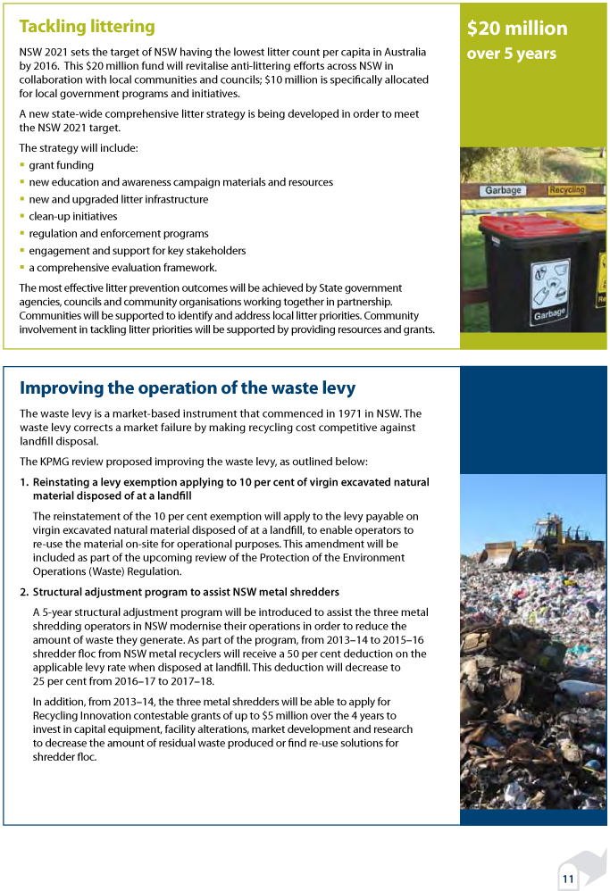Waste less, recycle more: a 5-year $465.7 million Waste and Reso